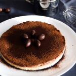 Tarta de chocolate con queso crema