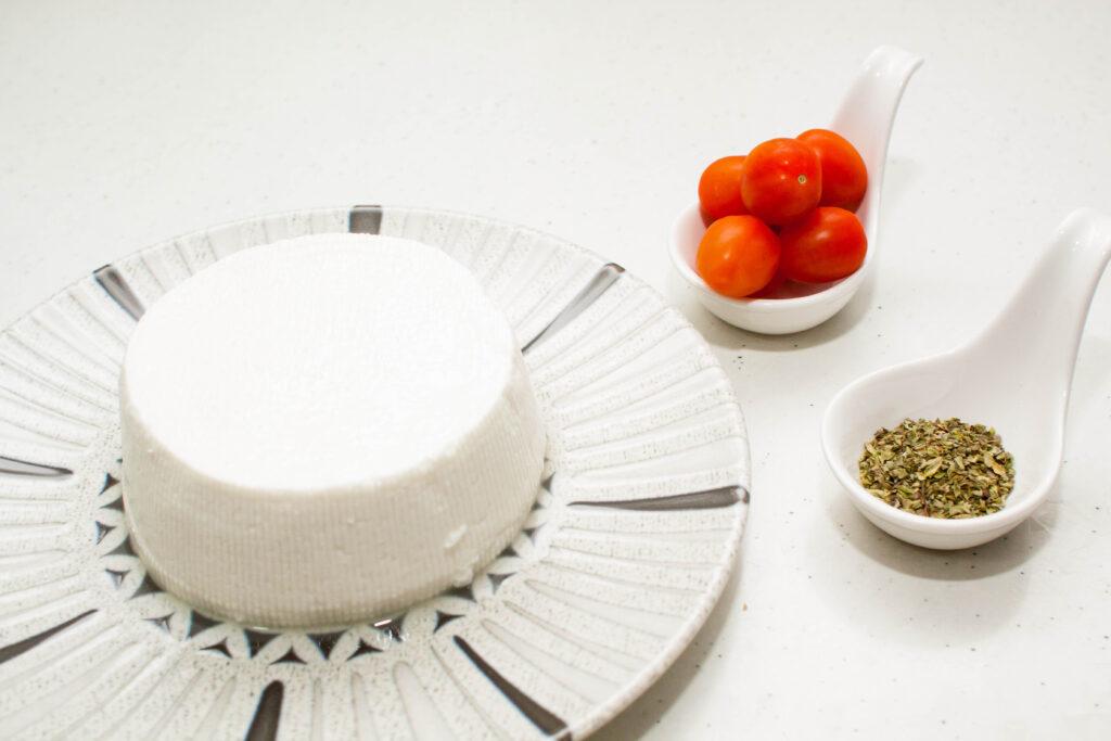 Ingredientes para hacer queso fresco a la plancha