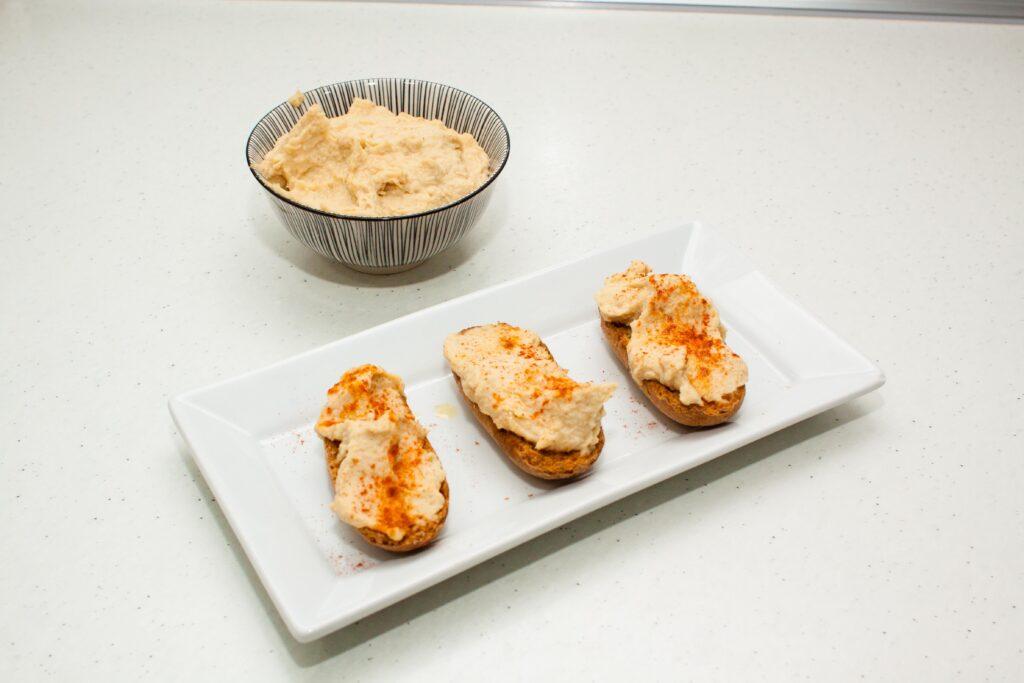 Hummus tradicional. Fácil y rápido